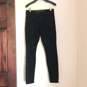 Articles of Society distressed black jeans sz.28